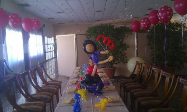 Decoraci n con globos para fiestas infantiles salones y for Decoracion para un jardin infantil